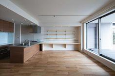 ルーフバルコニーを生かす広いリビングと開放性のある心地よいパウダールームのある家 - マンションリノベーション・リフォーム事例 リノベーション・リフォーム、注文住宅ならSUVACO(スバコ)