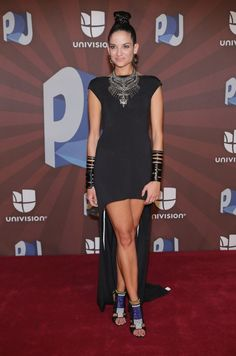 Natalia Jimenez Photos - Natalia Jimenez poses in the press room during the Premios Juventud 2014 at The BankUnited Center on July 2014 in Coral Gables, Florida. Celebrity Outfits, Celebrity Style, Natalia Jimenez, Famous Girls, Girl Crushes, Sexy Legs, Style Icons, My Girl, Beautiful Women