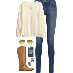 sweater, created by classically-preppy on Polyvore