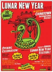 Lunar New Year Celebration 2013 Year of the Snake - Wing Luke Museum - Saturday, February 2, 2013 from 10:00am to 5:00pm
