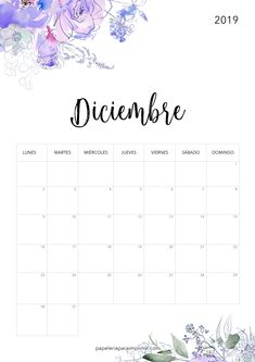 Calendario Diciembre 2019 Para Imprimir Argentina.Las 55 Mejores Imagenes De Calendario Para Imprimir 2019