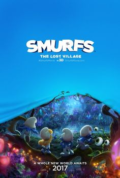Joe Manganiello, Demi Lovato, Jack McBrayer, and Danny Pudi in Smurfs: The Lost Village (2017)