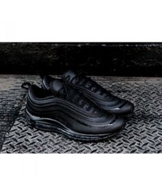 low priced 5c43f 7621e Nike air max 97 black adds a classic style to the sneaker collection.  Designed from nature and a variety of materials, the Air Max 97 is the  first pair of ...