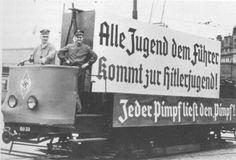 Wien, 1938, Tram. Austria, World War Ii, Vienna, Wwii, Germany, History, Flag, World War Two, Historia