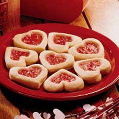 Cherry tart cookies for Wonderland party
