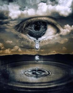 Research surrealist Artists Rene Magritte and Salvador Dali. Research surrealist Artists Rene Magritte and Salvador Dali. Crying Eyes, Crying Girl, Salvador Dali, Eye Art, Surreal Art, Amazing Art, Awesome, Amazing Eyes, Fantasy Art