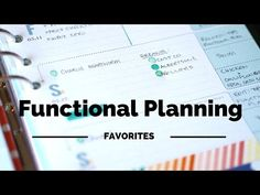 Top 5 Functional Planning Supplies - YouTube
