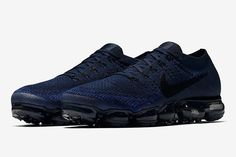first look nike air vapormax flyknit utility triple black