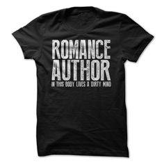 Romance Author T Shirts, Hoodies. Check price ==► https://www.sunfrog.com/LifeStyle/Romance-Author.html?41382 $19