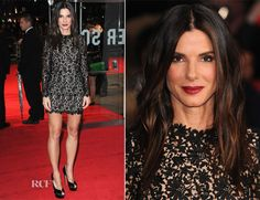 Sandra Bullock in Stella McCartney at the 2013 London Film Festival- I think this woman is perfect!!!!!