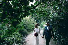 ANGELA + MATT // #wedding #bride #bridal #gown #dress #loverthelabel #lace #sleeves #groom #suit #tie #elegant #modern #romantic #ceremony #reception #melbourne #victoria #photographer #realwedding
