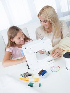 Sewing with kids can be a fun experience as long as you keep in mind that children's fingers are a little clumsier than an adult. Here are five great beginning sewing projects that kids will love: