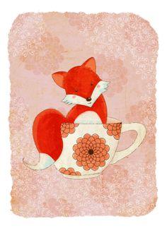 Renard à thé