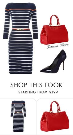 """015"" by tatiana-vieira ❤ liked on Polyvore featuring Lauren Ralph Lauren, Lulu Guinness and River Island"