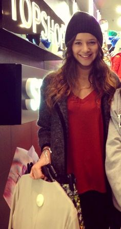 Eleanor Calder - topshop Westfields - 22Feb 2013