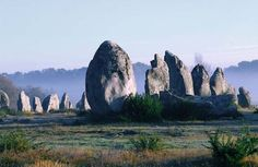 Menhirs, Carnac, Brittany, France