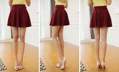 wine skater skirt - Google Search