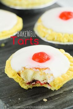 This Cherry Bakewell Tart is a fun addition to a Brave Movie night and combines two delicious desserts in one! Cake and pie - in one classic dessert!