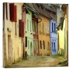 "Global Gallery 'Colors' by S.C. Photographic Print on Wrapped Canvas Size: 30"" H x 30"" W x 1.5"" D"