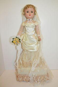 M.A. Mystery Portrait Doll - Victorian Bride - RARE!!!