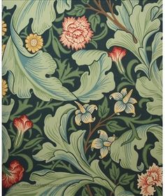 William Morris. (http://www.engelskatapetmagasinet.se/sv/articles/2.49.10740/william-morris-tapet)