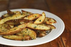 Family Favorite Baked Fries Recipe from our friends at the U.S Potato Board