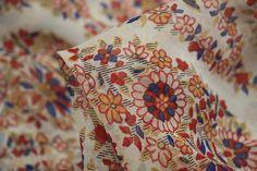Amalfi Fleur - Voile - Cotton/Silk - Tessuti Fabrics - Online Fabric Store - Cotton, Linen, Silk, Bridal & more