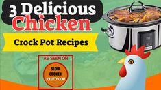 3 Slow Cooker Chicken Recipes Martha Stewart1 Slow Cooker Recipes, Crockpot Recipes, Chicken Recipes, Cooking Recipes, 3 Ingredient Orange Chicken Recipe, Martha Stewart, Tex Mex Chicken, Slow Cooker Chicken, 3 Ingredients