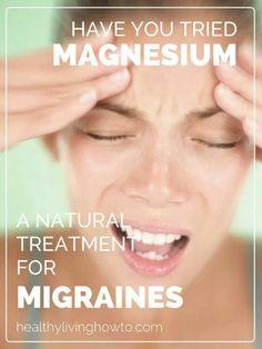 Migraines linked to magnesium