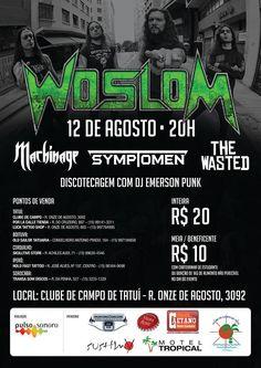 O THE WASTED se apresentará em sua casa, a cidade de Tatuí/SP, ao lado de grandes nomes do Metal nacional. A banda foi confirmada como uma das atrações do evento que conta ainda com WOSLOM, MACHINA…
