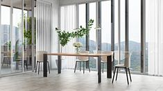 DINING TABLE - Designer Dining tables from Palatti ✓ all information ✓ high-resolution images ✓ CADs ✓ catalogues ✓ contact information ✓. Esstisch Design, Design Tisch, Dining Table Design, Dining Tables, Designer, Furniture Design, Office, Home Decor, Types Of Wood