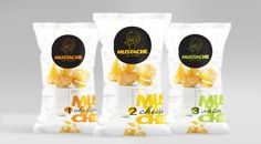 Mustache and BlackBird Snacks on Packaging of the World - Creative Package Design Gallery