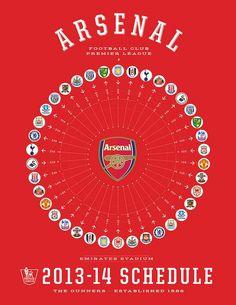 Arsenal match 2013/14