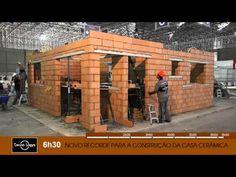 Construção da Casa de Cerâmica - Feicon Batimat 2012 - YouTube