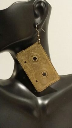 Throwback Cassette Tape Earrings https://www.etsy.com/shop/NYCAccessoriesByTD