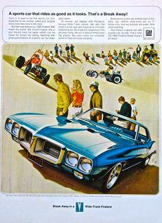 Wide Track Firebird, 1960s ad
