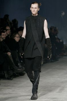 Visions of the Future // Rick Owens Fall 2011 Menswear Fashion Show