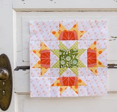 Tutorial: Squash Blossom Block (from Bloomin' Workshop)