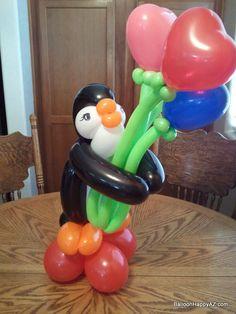 penguin wedding centerpieces | Balloon Gifts & Centerpieces