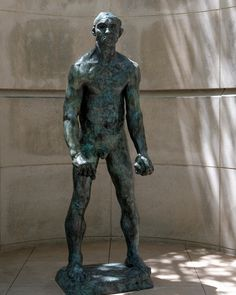 Auguste Rodin, Jean d'Aire from The Burghers of Calais, Bronze Dallas Museums, Auguste Rodin, Art Museum, Batman, Bronze, Statue, Superhero, Fictional Characters, Design