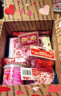 sending love 3  (valentines day care packages for neices, nephews, and college students).