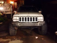 Hey all, I'm new to the site here, but I'm sure you'll see me hanging around the ZJ forums quite a bit! Anyways, I also just finished putting a bumper Accessoires 4x4, Jeep Zj, Jeep Grand Cherokee Zj, Off Road Trailer, Jeep Stuff, Transportation, Monster Trucks, Road Trip, Goals
