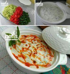 Kabak Ve Kırmızı Biber Mezesi Malzemeler 2 adet kabak 4 adet közlenmiş kırmızı biber Dereotu 2 yemek kaşığı zeytinyağı Tuz Yoğurt Sosu İçin; 1 büyük kas... - f. özbağ - Google+