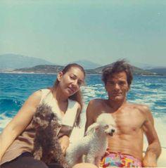 Maria Callas and Pier Paolo Pasolini