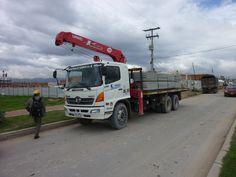 UNIC Truck-mounted crane Truck Mounted Crane, Trucks, Vehicles, Cars, Autos, Truck, Car, Car, Automobile