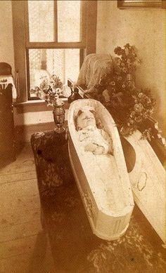 Early Post Mortem Photography: Dead Child