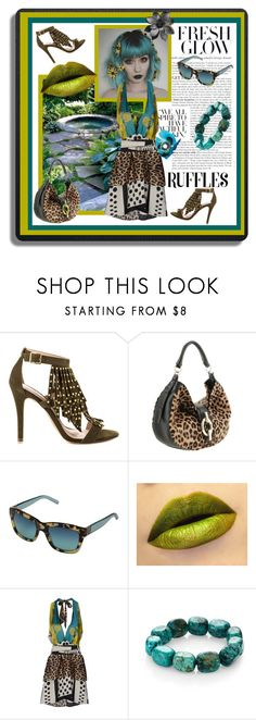 """""""Animal Polka-dot Ruffles What Can I say?"""" by love-my-cats-friends-and-fashion ❤ liked on Polyvore featuring ALDO, Diane Von Furstenberg, Tory Burch, SHI 4, Nest and ruffles"""
