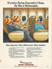 AIR INDIA   Treats you like a Maharajah -1985 Vintage Airline Print Ad # 54 4