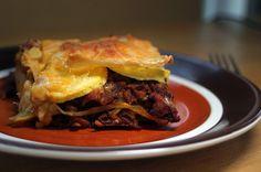 Sweet Potato Lasagna For Your Christmas Table