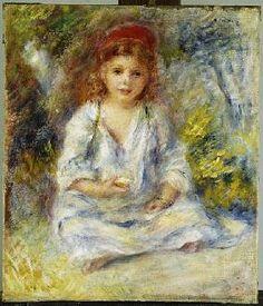 Pierre-Auguste Renoir - Young Algerian Girl, c.1881